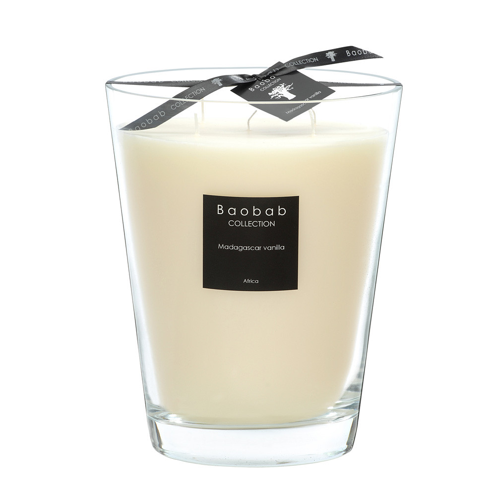 Baobab Collection - All Seasons Scented Candle - Madagascar Vanilla - 24cm