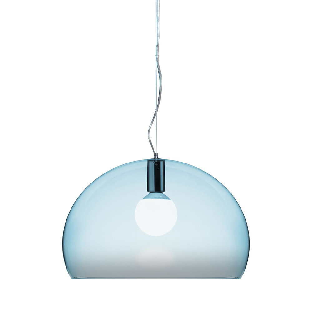 Kartell - FL/Y Ceiling Light - Light Blue