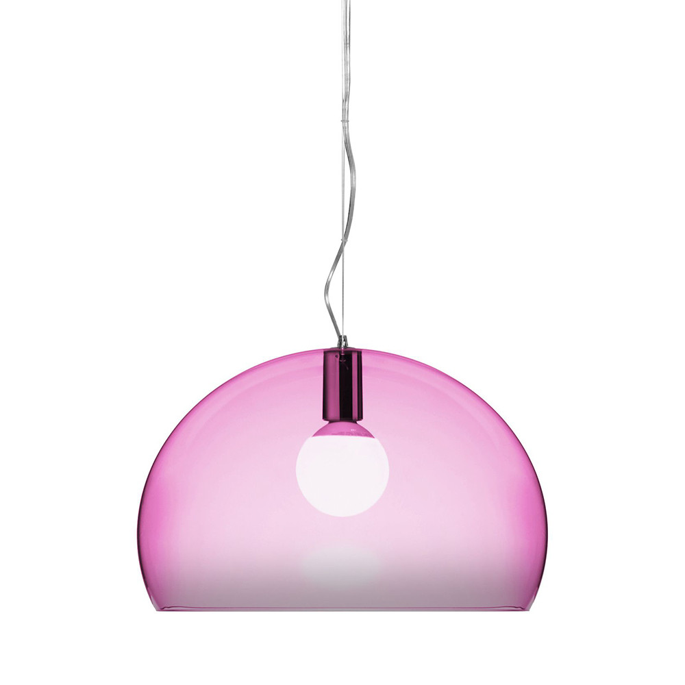Kartell - FL/Y Ceiling Light - Cardinal Red