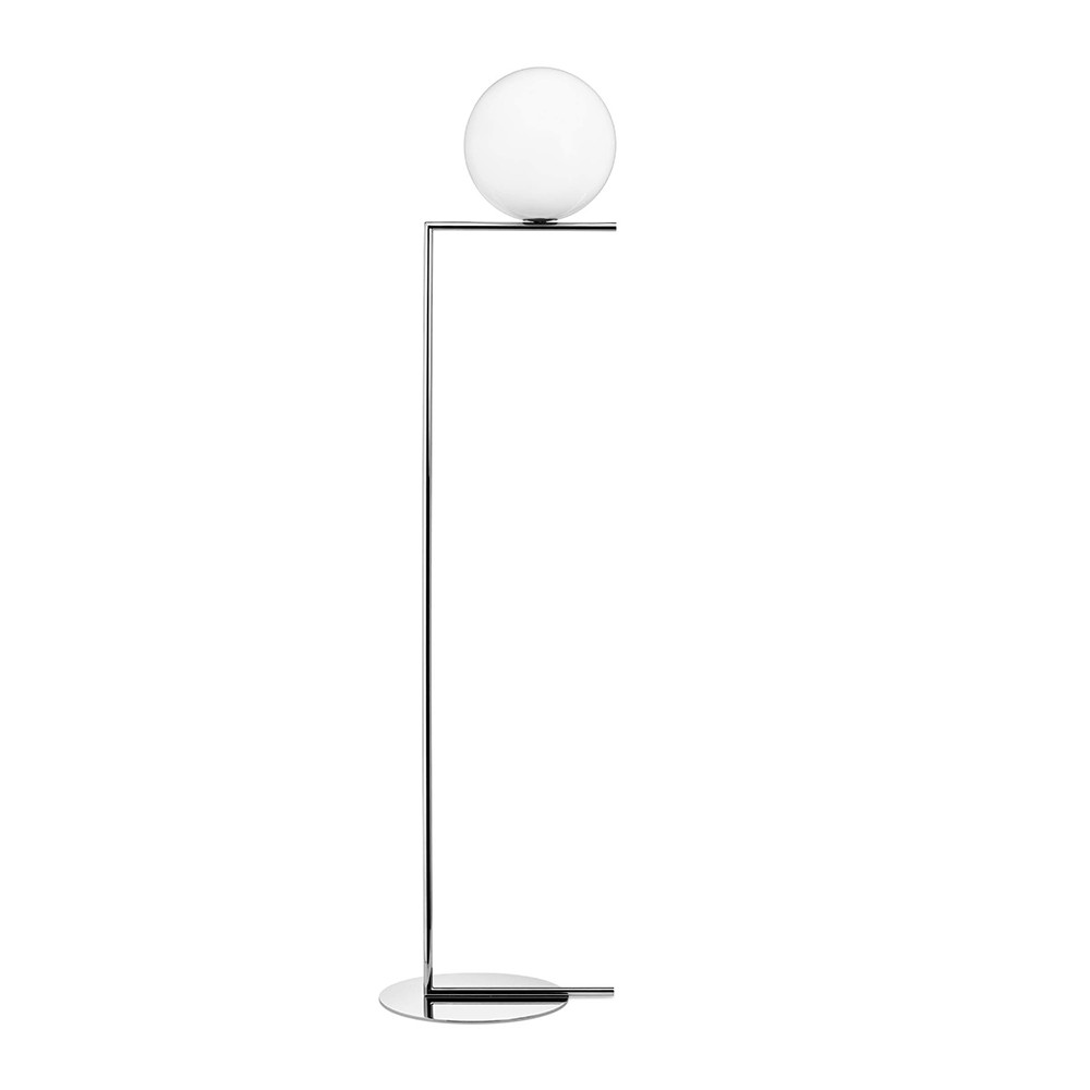 Buy flos ic floor lamp chrome f2 amara mozeypictures Gallery