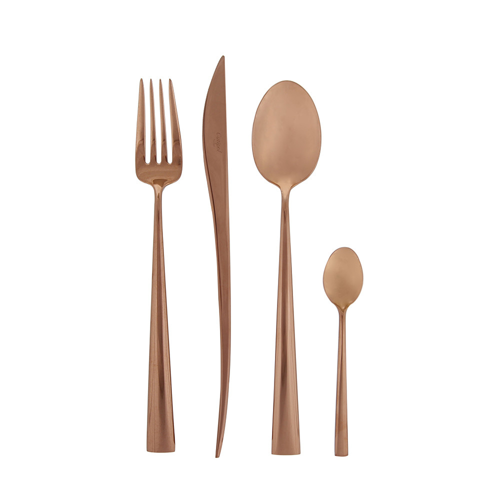Cutipol - Duna 24 Piece Cutlery Set - Copper