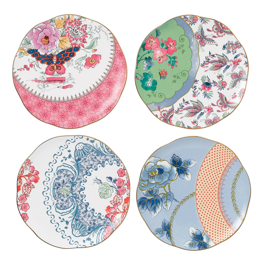 Wedgwood - Butterfly Bloom Plate - Set of 4