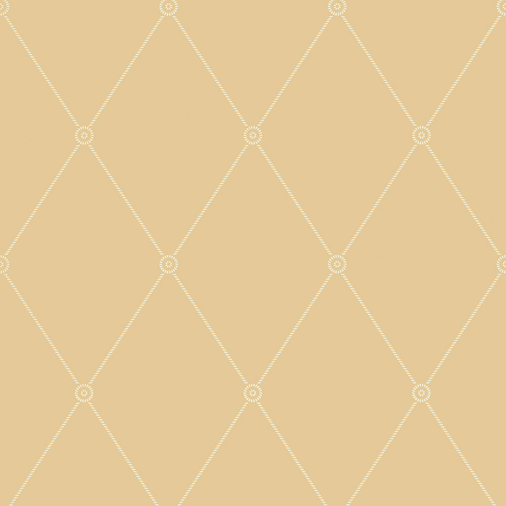 Cole and Son - Large Georgian Rope Trellis Wallpaper -
