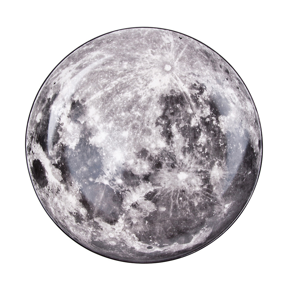 Diesel Living with Seletti - Cosmic Plate - 30cm - Moon