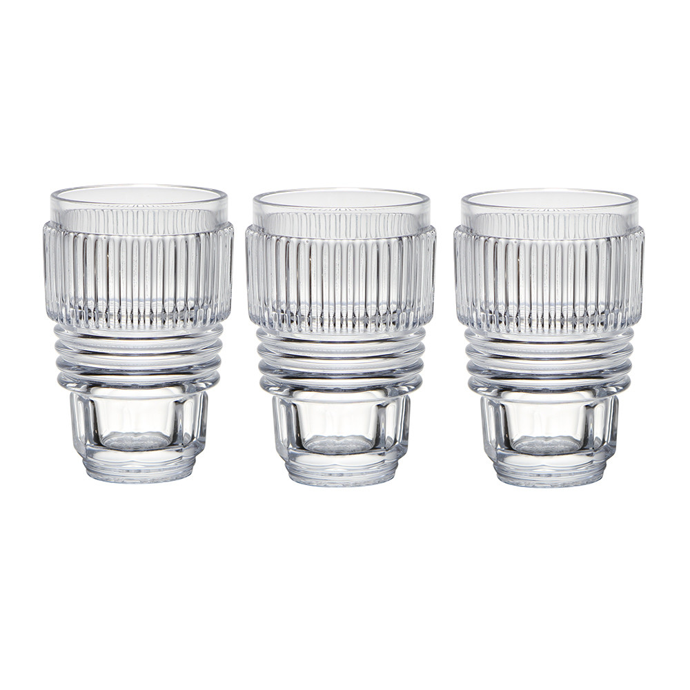 Diesel Living with Seletti - Machine Collection - Glasses - Set of 3 - Large