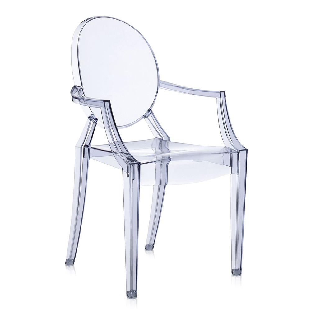 buy kartell louis ghost armchair ice blue amara. Black Bedroom Furniture Sets. Home Design Ideas