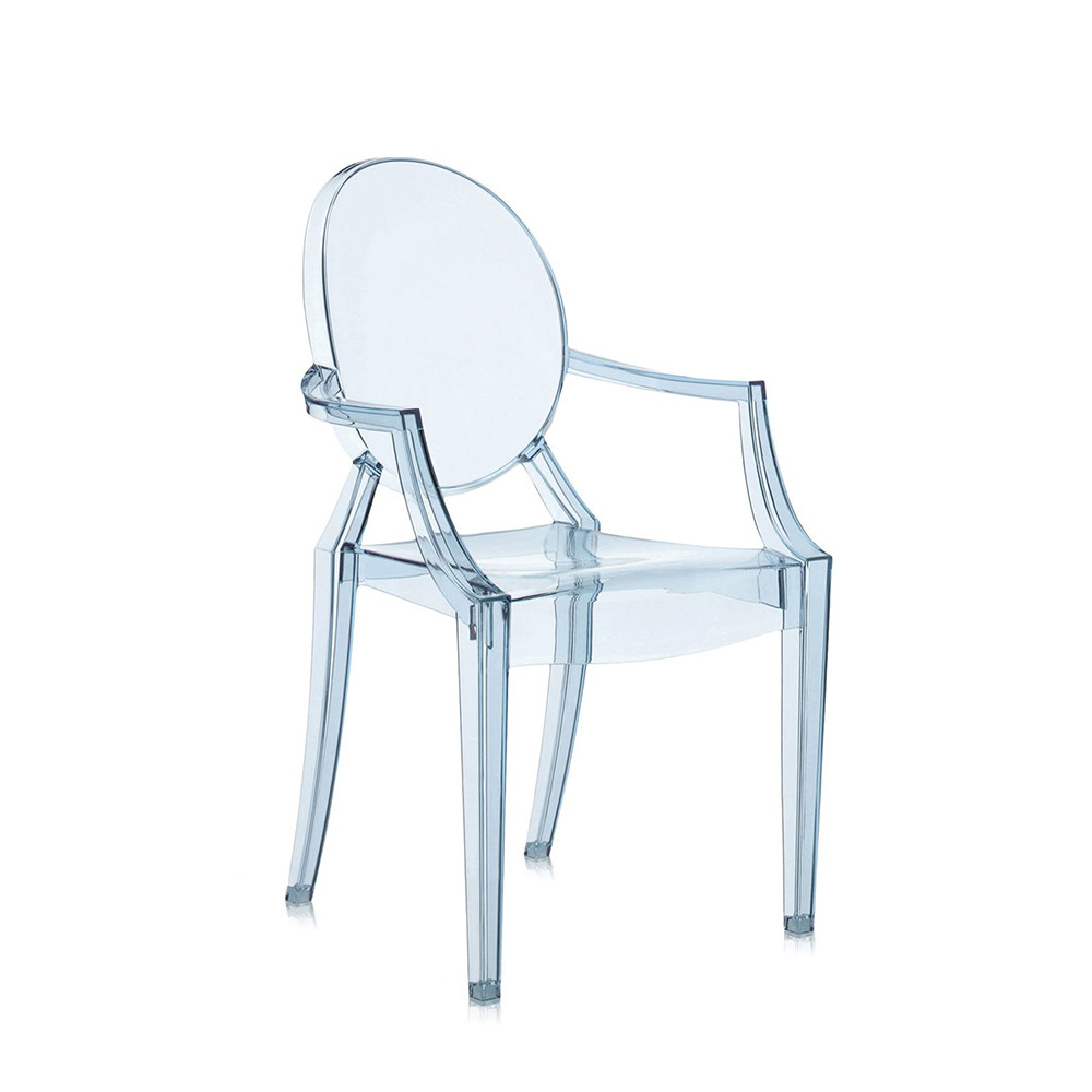 Buy Kartell Loulou Ghost Childrenu0027s Chair   Light Blue | Amara