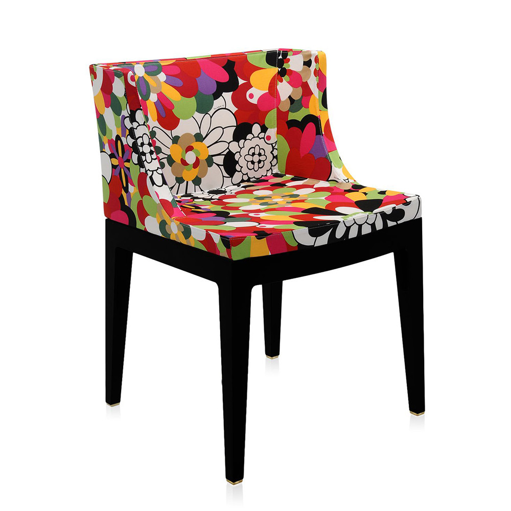 Philippe Starck S Missoni Fabric Mademoiselle Chair: Buy Kartell Mademoiselle 'a La Mode' Black Chair