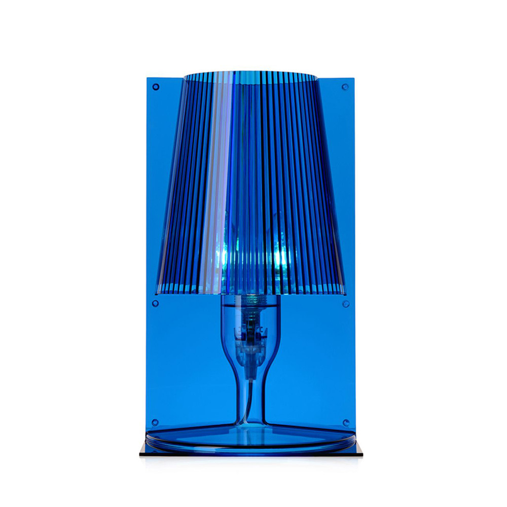 Buy kartell take table lamp blue amara geotapseo Choice Image