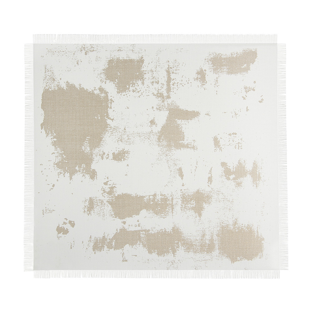 Chilewich  Imprint Rectangle Placemat  Rustic Gold