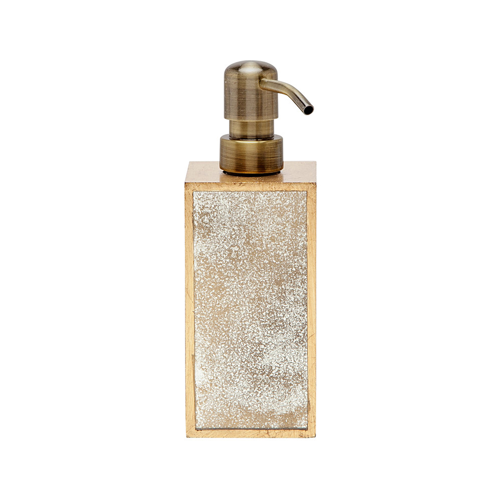 Pigeon & Poodle - Atwater Soap Pump - Antiqued Gold