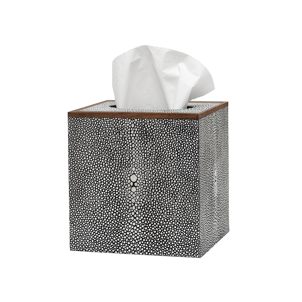 Pigeon & Poodle - Manchester Tissue Box - Grey