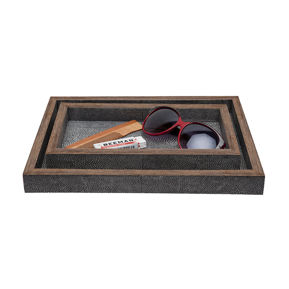 Pigeon & Poodle - Manchester Tray Set - Gray