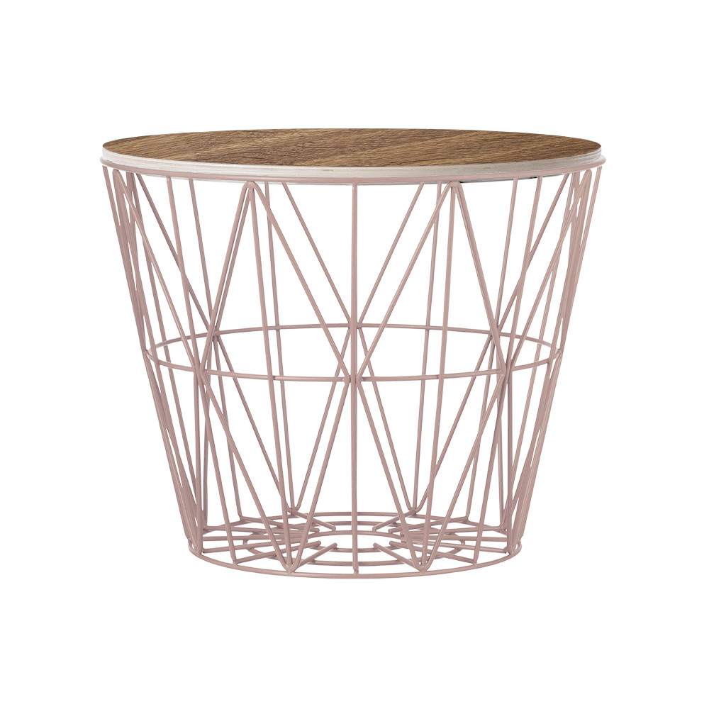 Buy ferm living medium wire basket amara greentooth Image collections