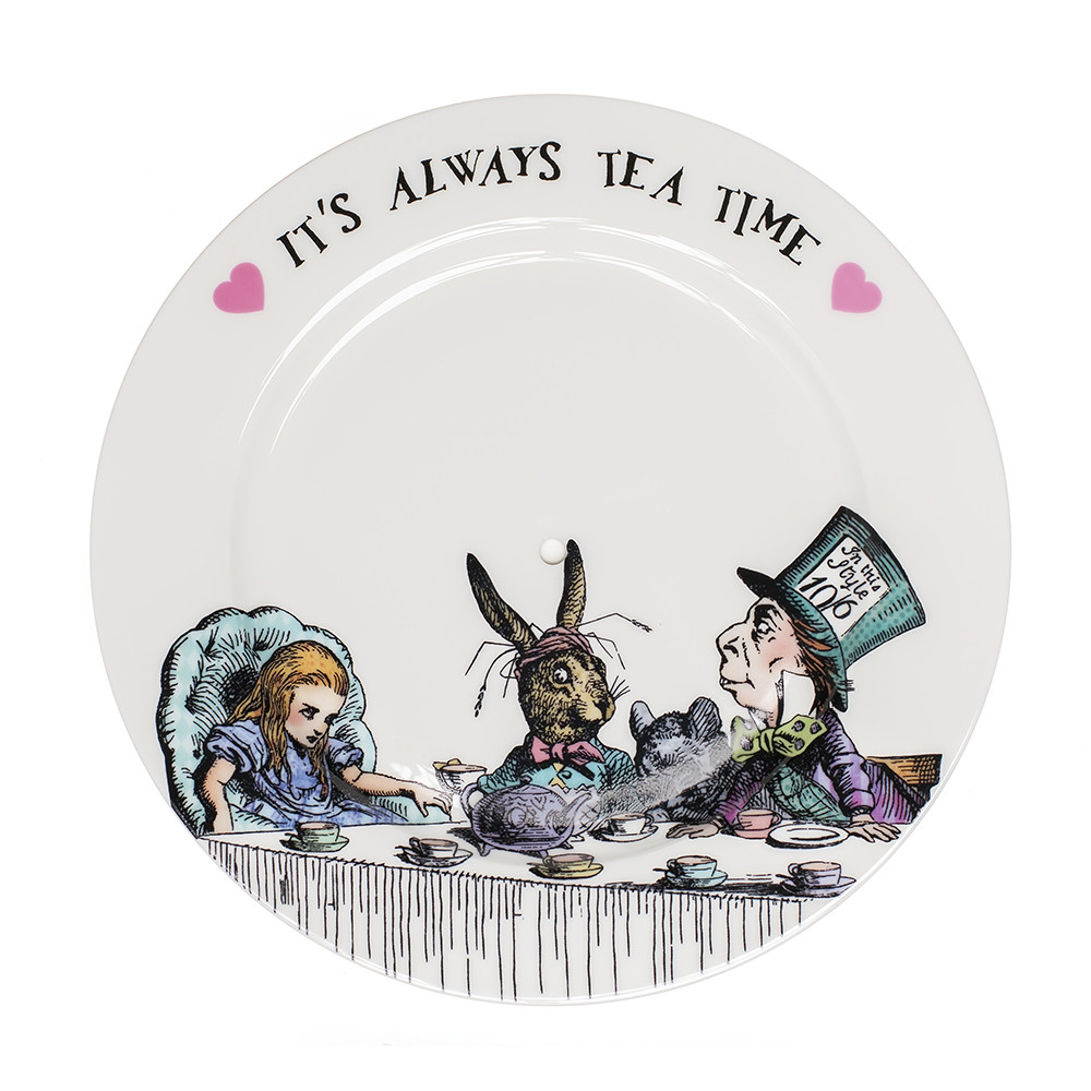 Mrs Moore's Vintage Store - Alice in Wonderland 2 Tier Cake Stand