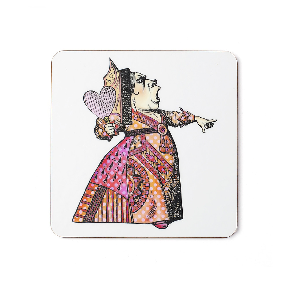 Mrs Moore's Vintage Store - Red Queen Coaster