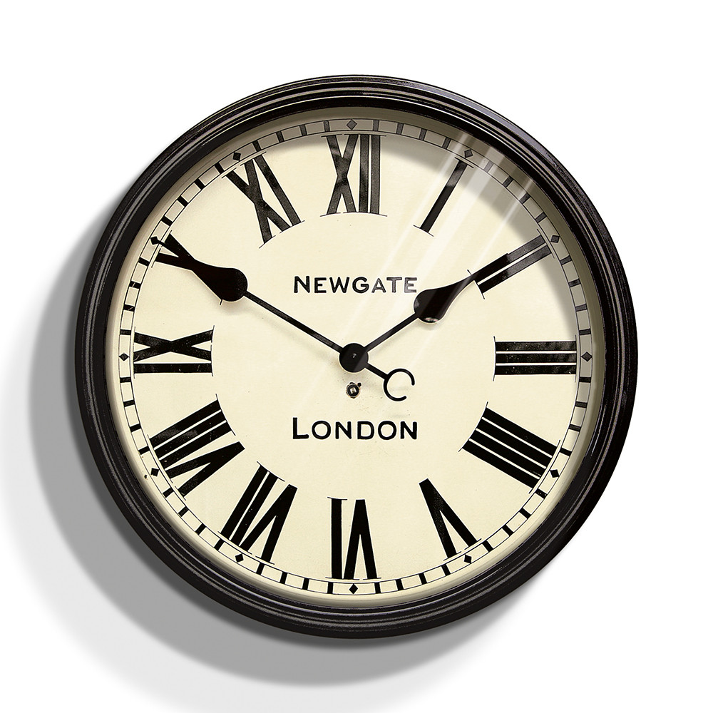 Buy newgate clocks the battersby wall clock large amara amipublicfo Image collections