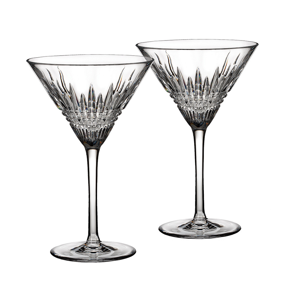 Waterford - Lismore Diamond Martini Glasses - Set of 2