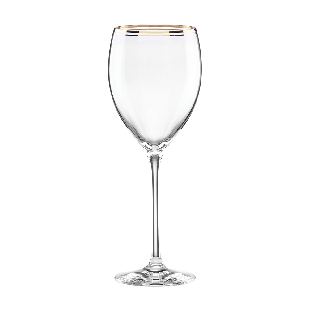 kate spade new york  Orleans Square Gold Wine Glass