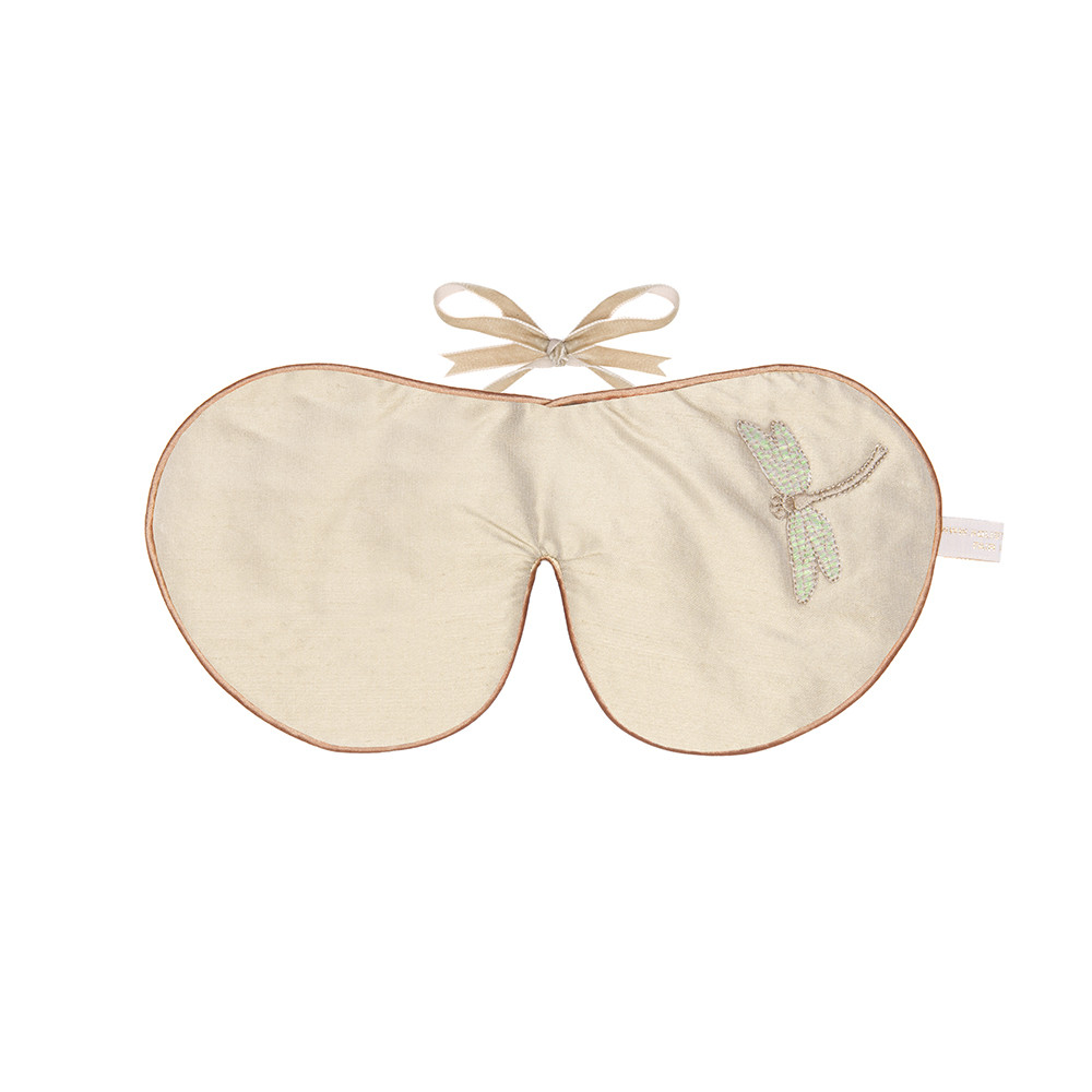 Holistic Silk - Lavender Eye Mask - Cream