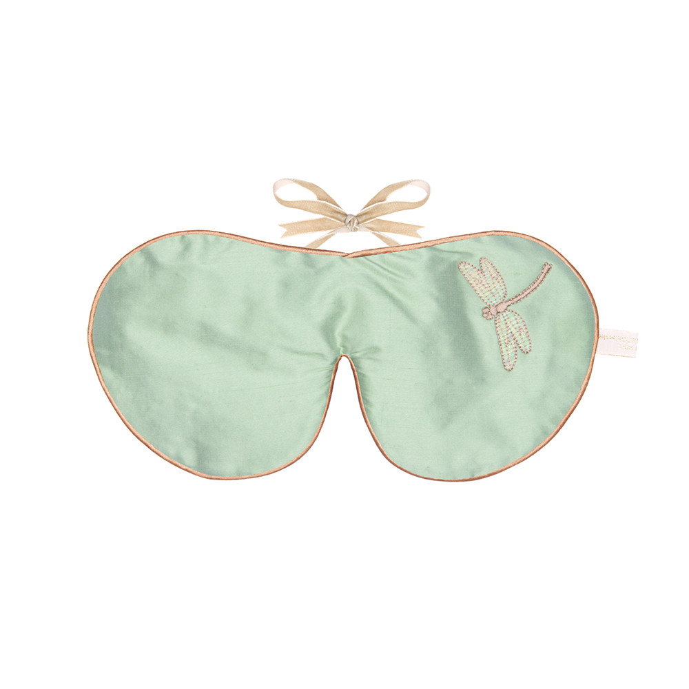 Holistic Silk - Lavender Eye Mask - Jade
