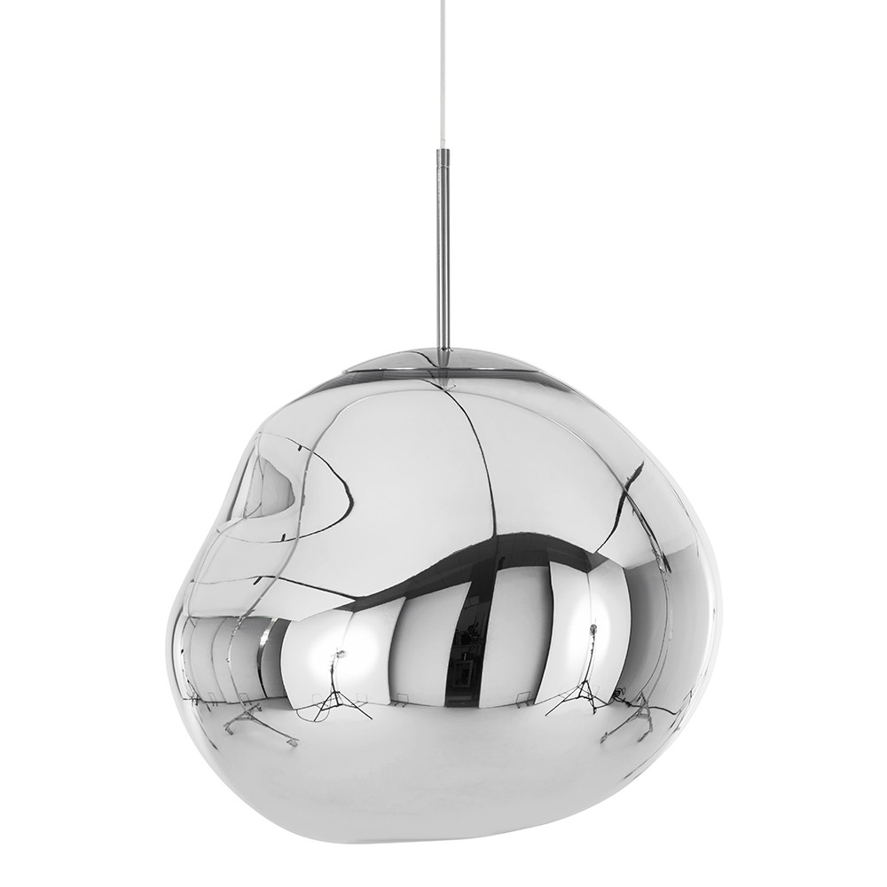 Buy Tom Dixon Melt Chrome Pendant Light | Amara