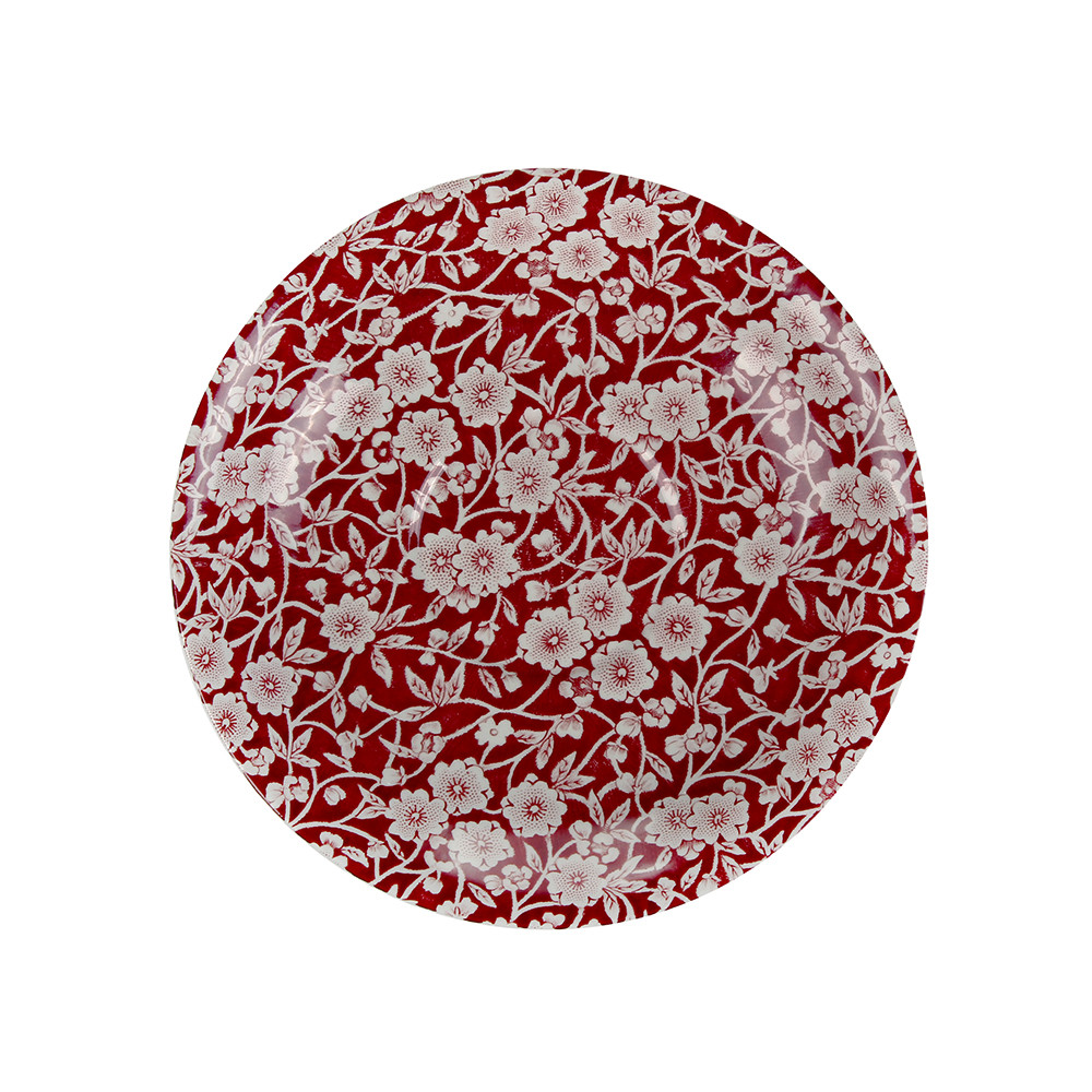 Burleigh - Red Calico Breakfast Saucer