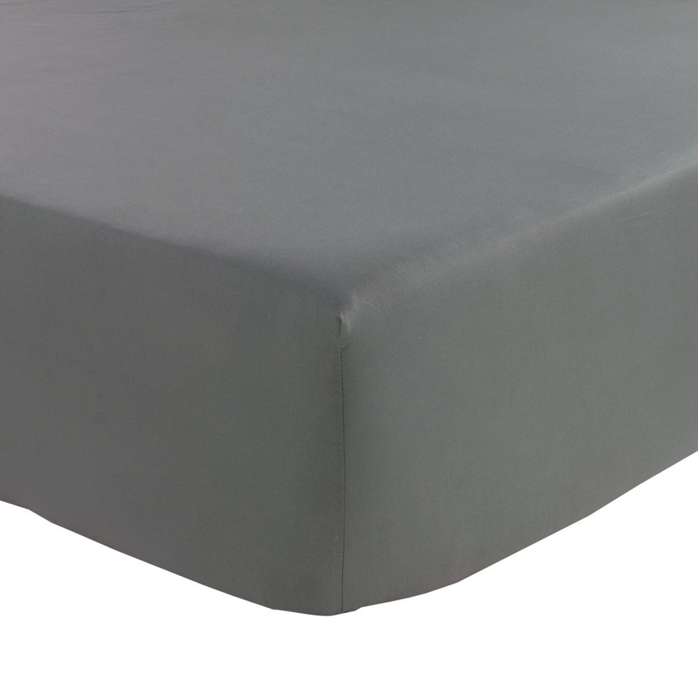 Olivier Desforges - Alcove Fitted Sheet - Slate - Double