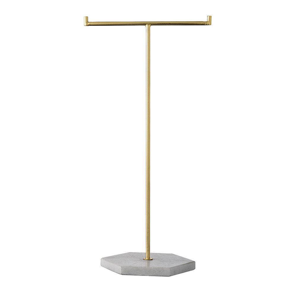 Buy bloomingville gold marble jewelry stand amara for Sawyer marble jewelry stand