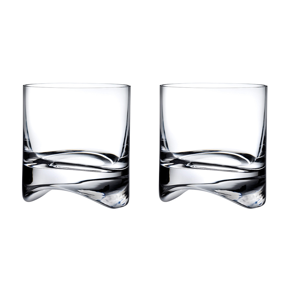 Nude - Arch Whisky Glasses - Set of 2