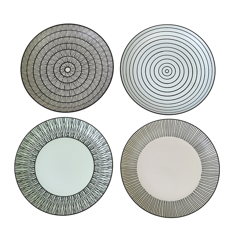 Pols Potten - Afresh Pastel Plates - Set of 4 - Small