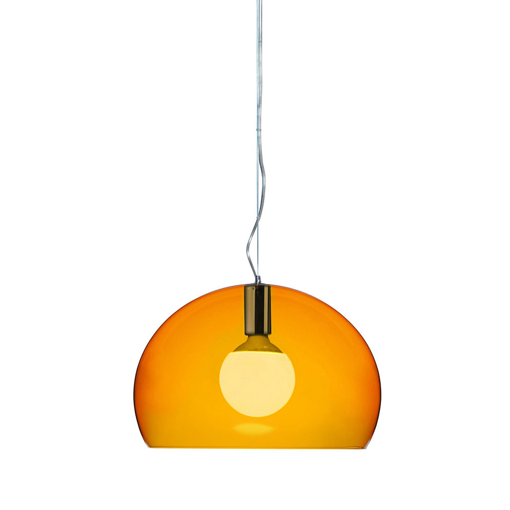 Kartell - Big FL/Y Ceiling Light - Orange