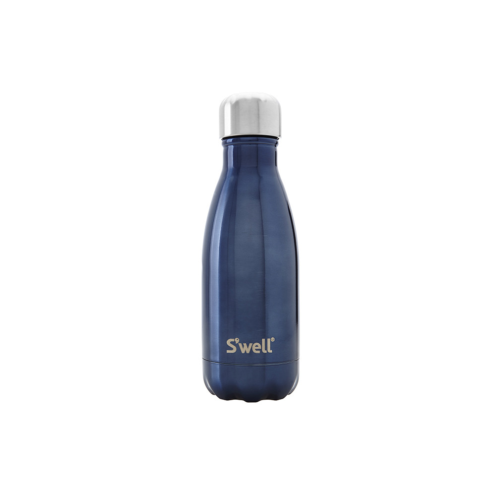 S'well - The Shimmer Bottle - Blue Suede - 0.26L