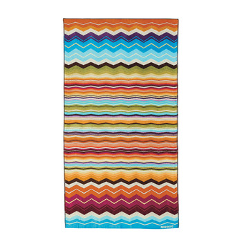 Hugo Beach Towel - Bright Multicolored