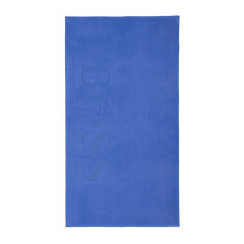 Serviette de plage Carved - Cobalt
