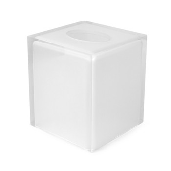 Hollywood Tissue Box - White