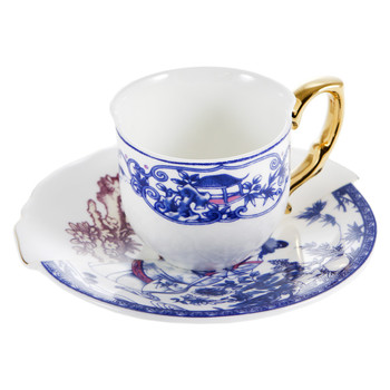 Hybrid Eufemia Coffee Cup & Saucer