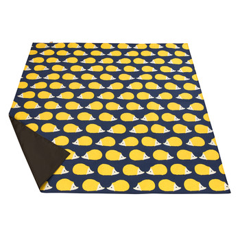 Kissing Hedgehogs Picnic Blanket