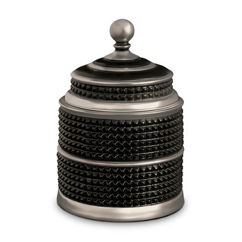 Bibliotheque Candle - Black & Platinum