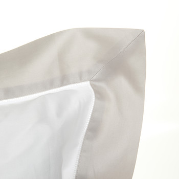 Langdon Oxford Pillowcase - Silver - 50x75cm