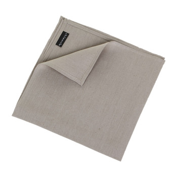 Single Linen Napkin - Cement