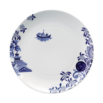 Willow Love Story Dinner Plate - 27cm