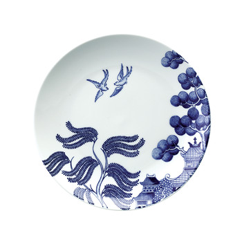 Willow Love Story Salad Plate  - 21cm