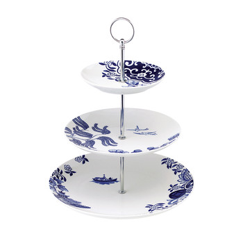 Willow Love Story Three Tiered Cake Stand