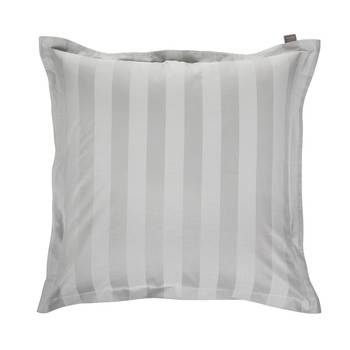 Rig Stripe Pillowcase - Light Grey