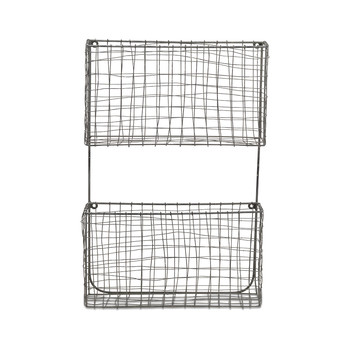 Locker Room Magazine Rack - Distressed Gray