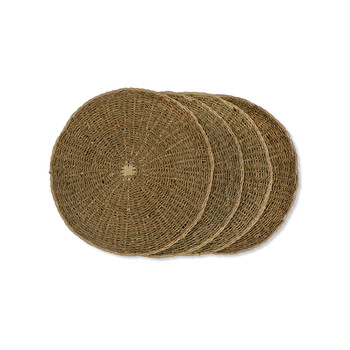 Round Seagrass Placemat - Set of 4