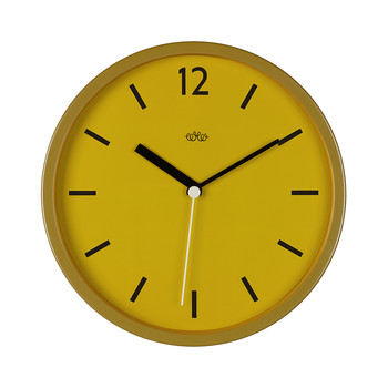 Wall Clock 30cm - English Mustard
