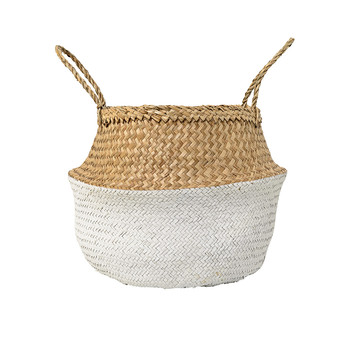 Neutral/White Basket