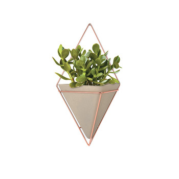 Trigg Large Copper Wall Planter